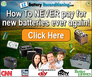 Reconditioning Batteries Helps The Environment