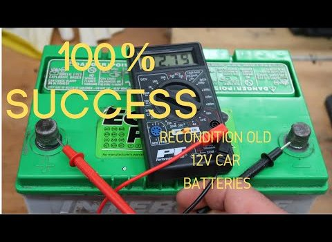 Recondition Your Batteries For Longer Life